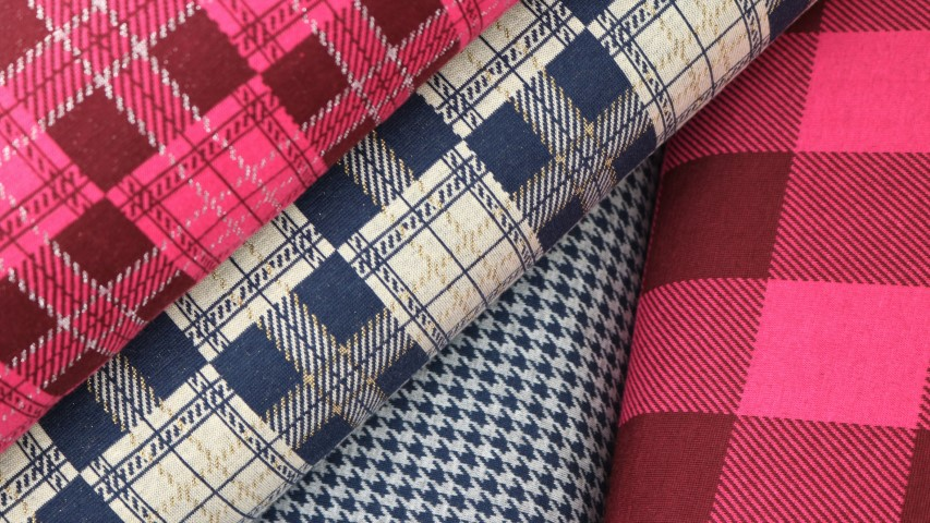 "Jacquard - ""Plaid"" - Series"