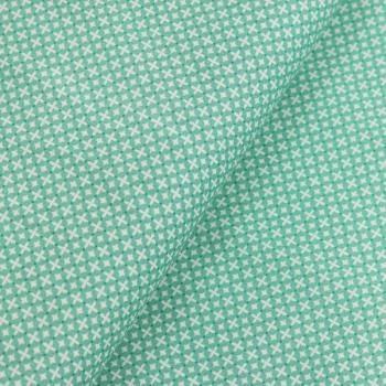 Poplin Cross Stitch Petrol