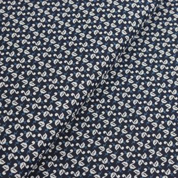 Poplin Flamingo Nightblue
