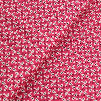 Poplin Flamingo Berry