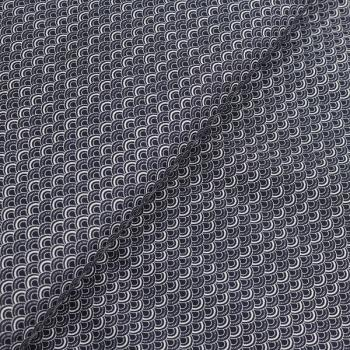Poplin Scallop Nightblue