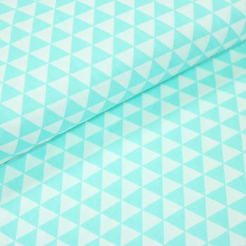 Woven Cotton Twill Triangle D.Mint
