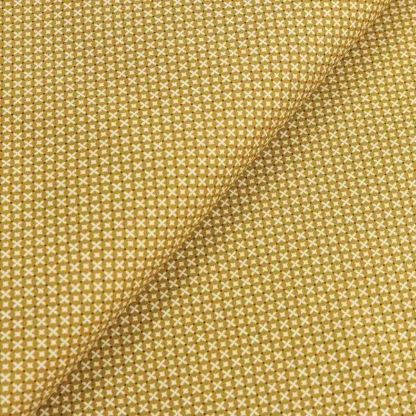 Poplin Cross Stitch Mustard